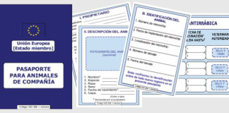 Pasaporte veterinario